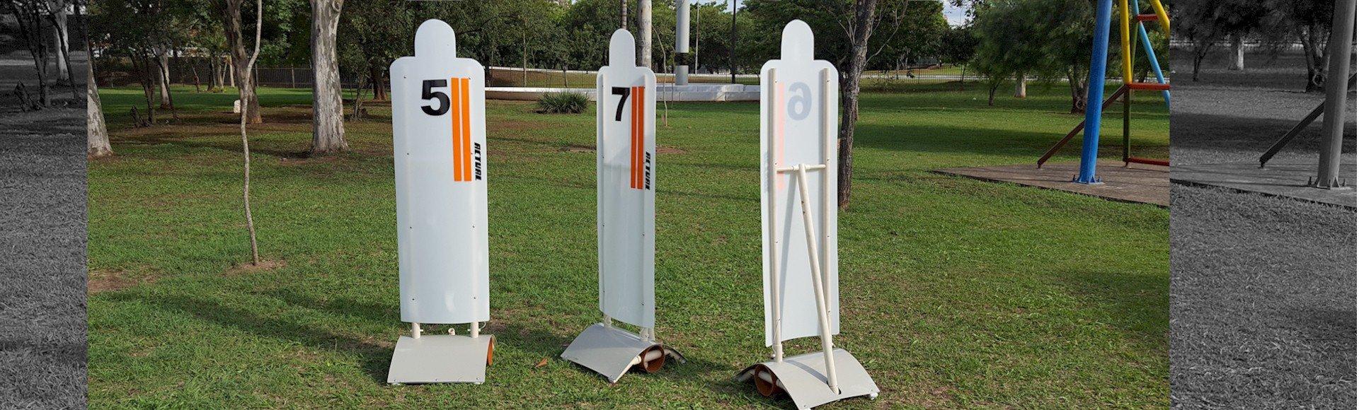 boneco de barreira para treinamento de campo e quadra. Barreira de faltas e treino tático.