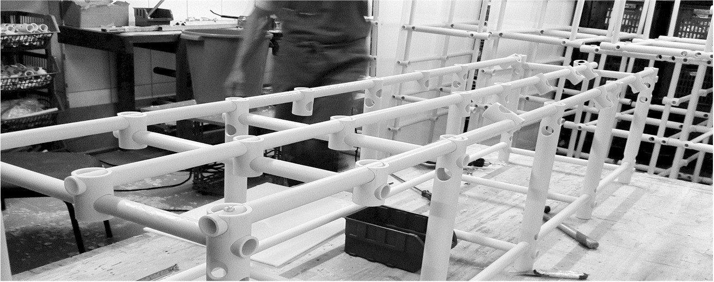 As plataformas de piscina Actual® são totalmente fabricadas em oficina própria, o que assegura a melhor qualidade possível na sua construção.