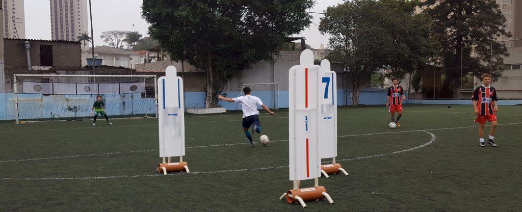 treino Anhanguera barreira individual Actual e chute ao gol