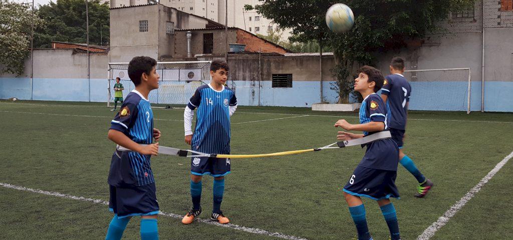 Treino Anhanguera tração duplo Actual modelo start - treino controle de bola