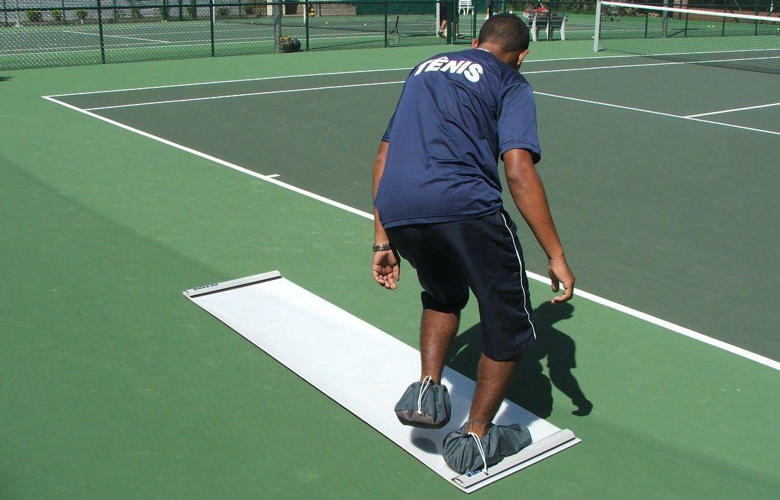 Slide - Pista de deslizamento para treinamento esportivo e fitness.