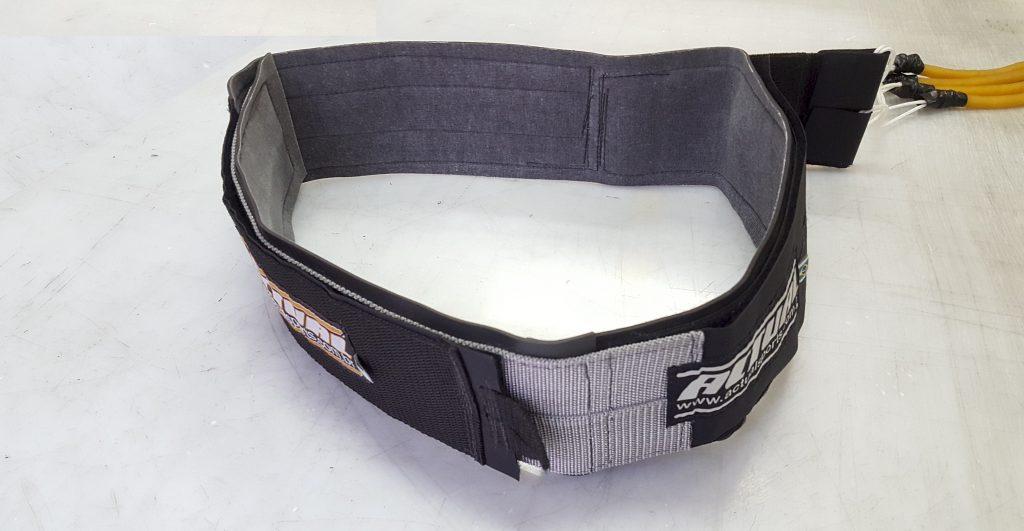 extensor para cintura do cinto de tração Actual - para cinturas grandes montado