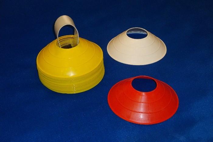 Tartaruguinhas de Treinamento Esportivo - cones baixos de 5cm. kit 20 e unidade edit