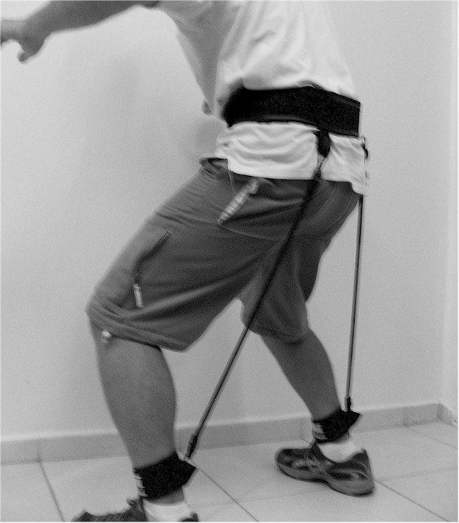 tração flexão joelhos Actual