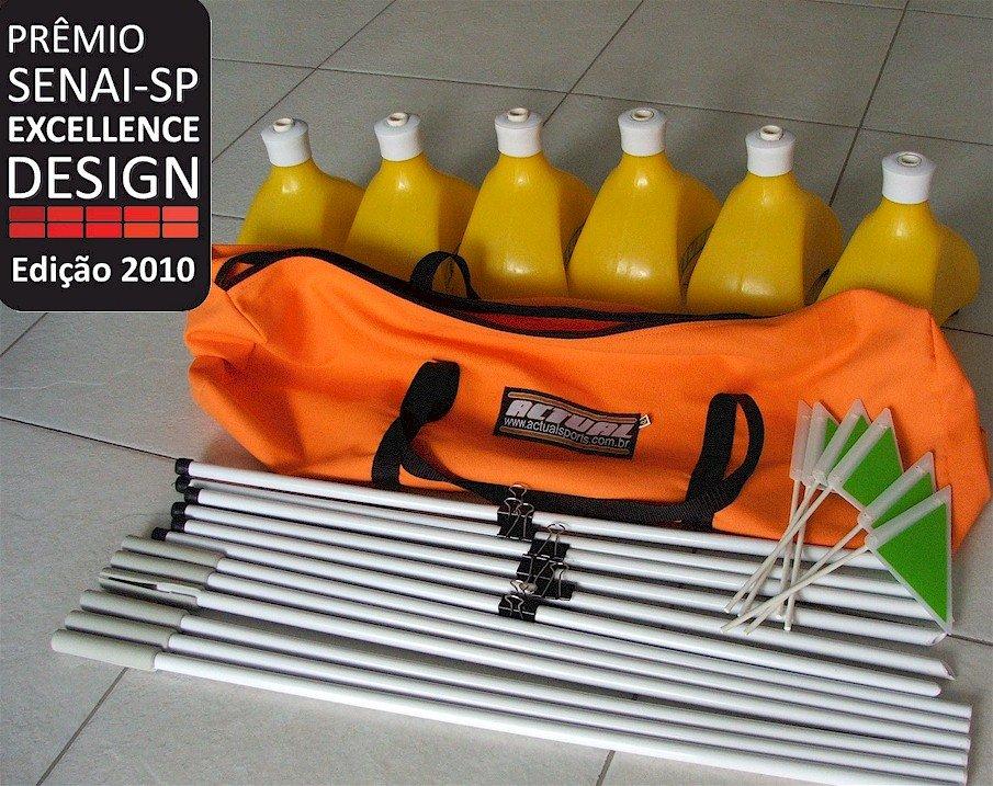 O Kit Posicionador Baliza e Barreirinhas foi premiado em 2010 pelo Senai Excellence Design