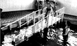 rampa para piscina na apae Santa Rita do Passaquatro