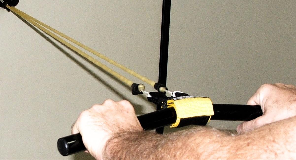 barra em V - em uso na fisioterapia