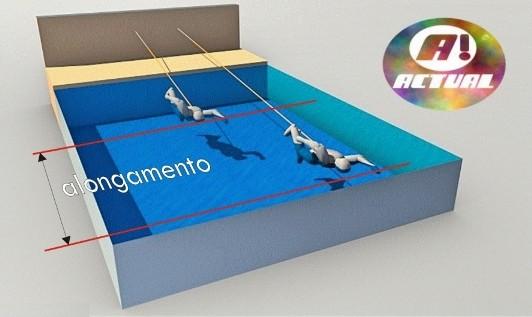 cinto natação latex Actual ilustração alongamento edit