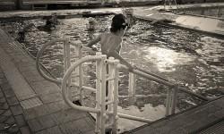escada de piscina para adultos e crianças Actual