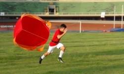 Paraquedas de Corridas para Treino de Velocidade e Aceleração.