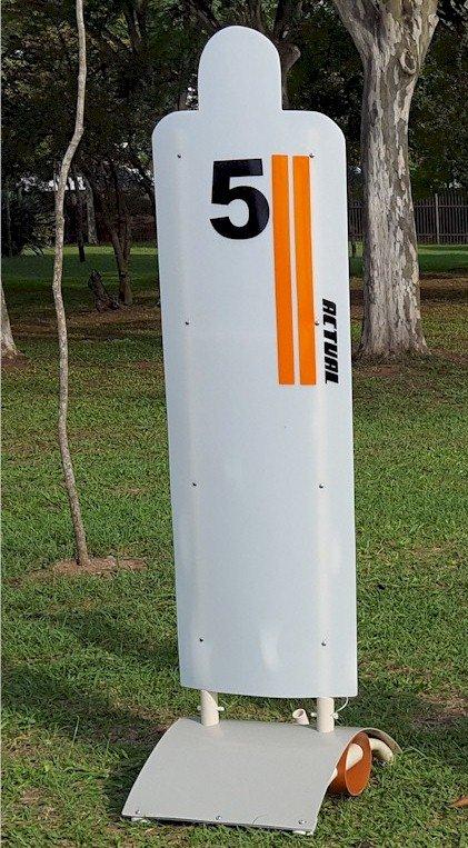 boneco de barreira para treinamento em campo - unidade