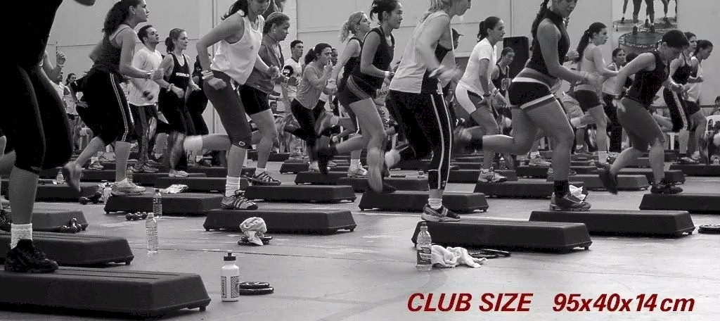 step aerobico club size Actual modelo profissional