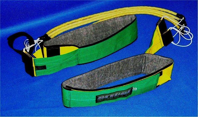 cinto de tração Actual modelo Verde e Amarelo