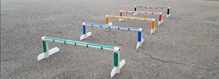 Barreira de pliometria com altura fixa Actual®