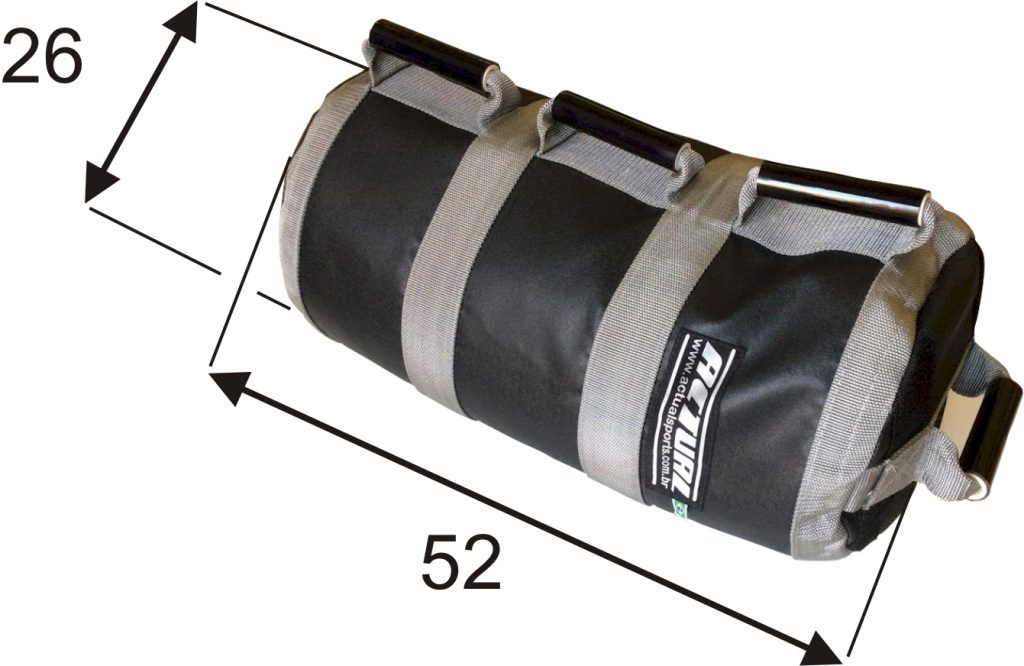 sandbag Actual principais medidas