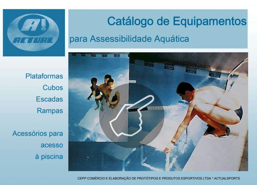 catalogo Actual plataforma - rampa e escada de piscina