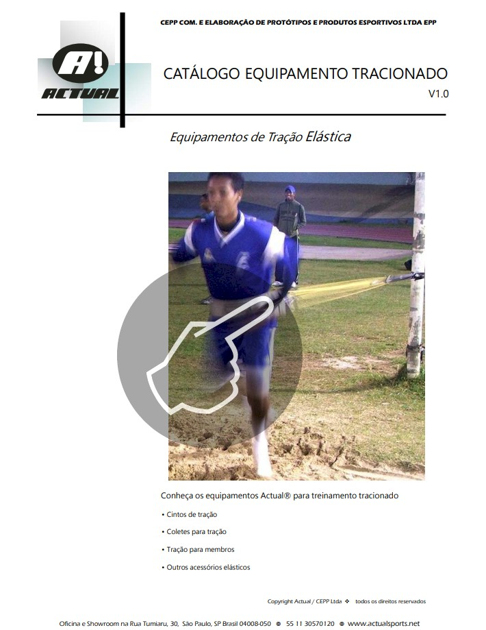 catalogo cinto de tracao Actual