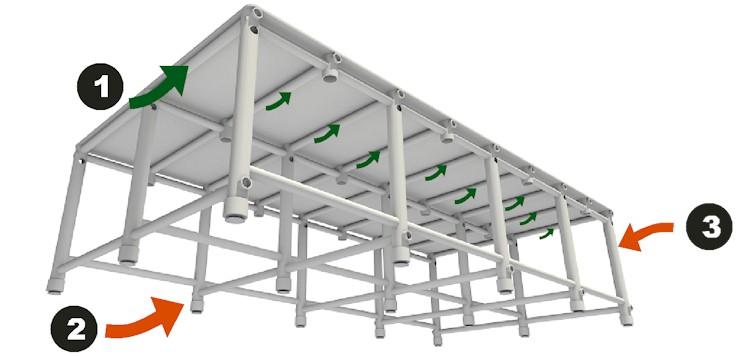 Detalhes construtivos da plataforma de piscina Actual