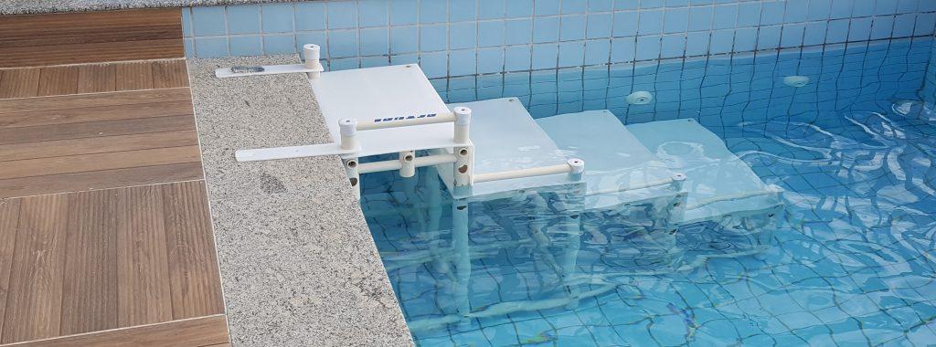 escada de piscina nbr standard